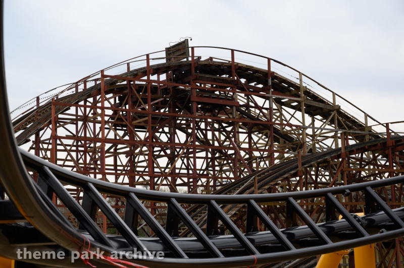 Racer at Kennywood