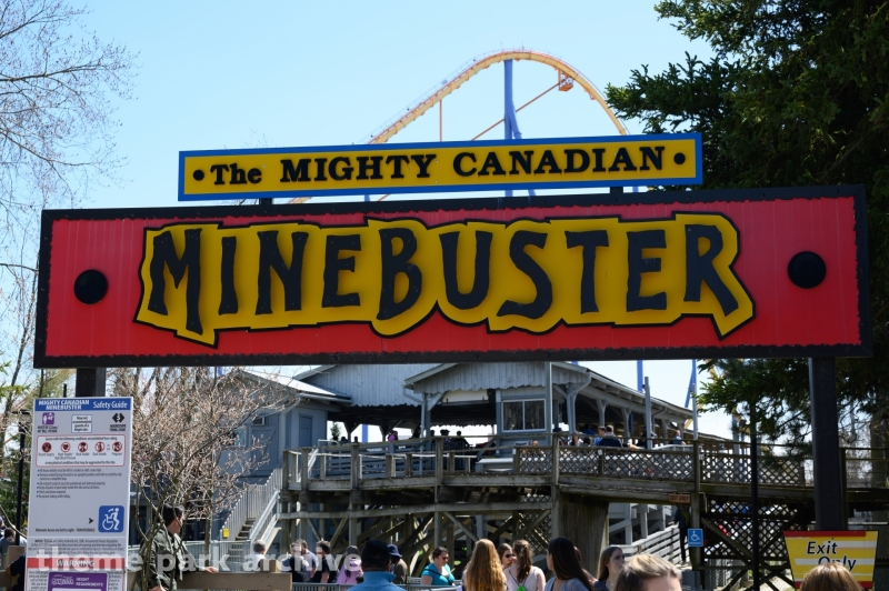 Mighty Canadian Minebuster at Canada's Wonderland