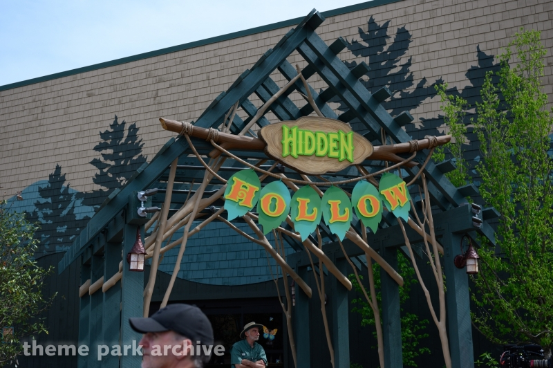 Hidden Hollow at Dollywood