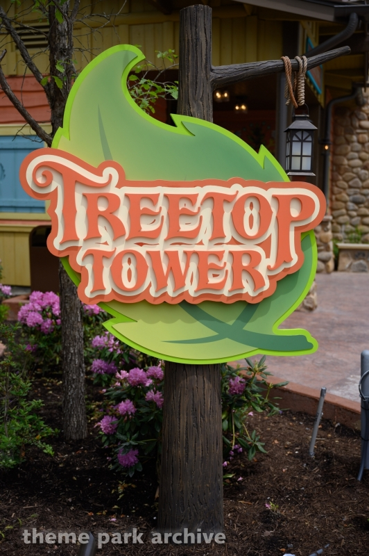 Treetop Tower at Dollywood