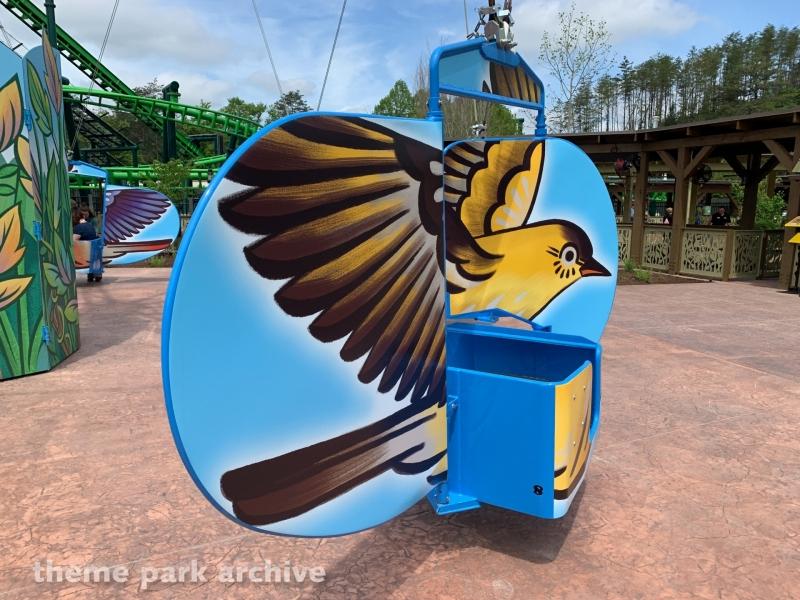 The Mad Mockingbird at Dollywood