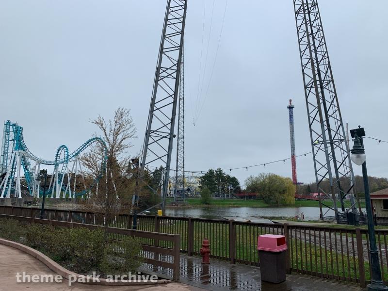 Redhawk at Six Flags Darien Lake