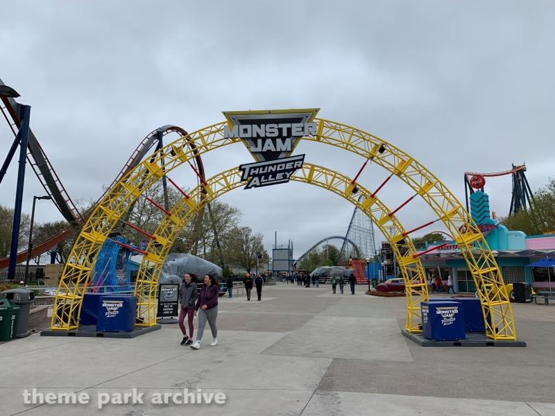 Monster Jam Thunder Alley at Cedar Point