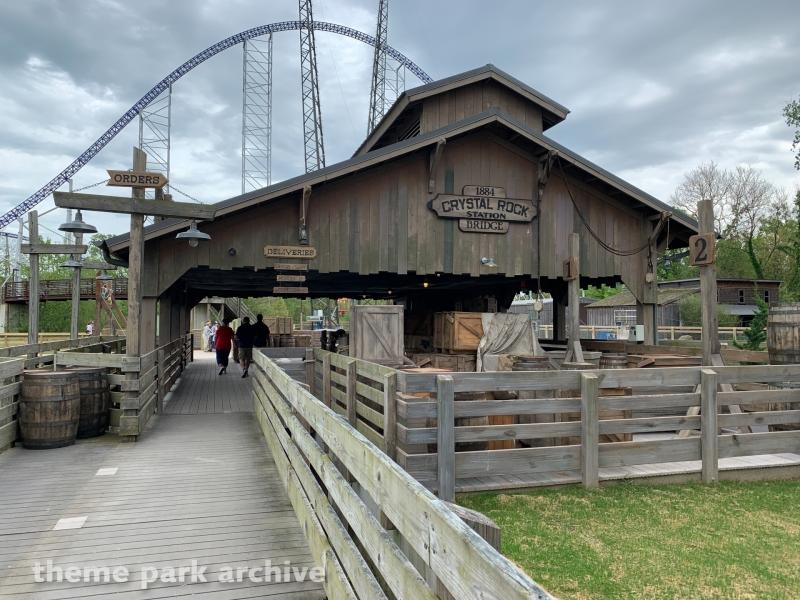 Forbidden Frontier on Adventure Island at Cedar Point