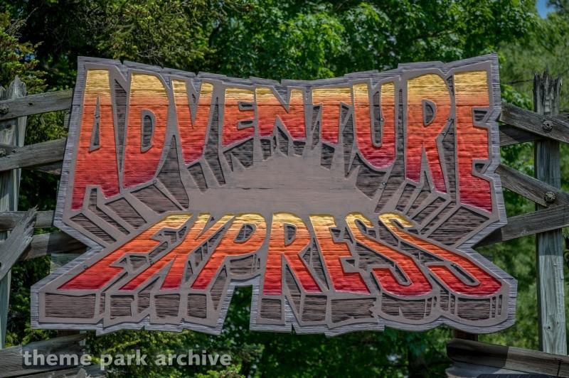 Adventure Express at Kings Island