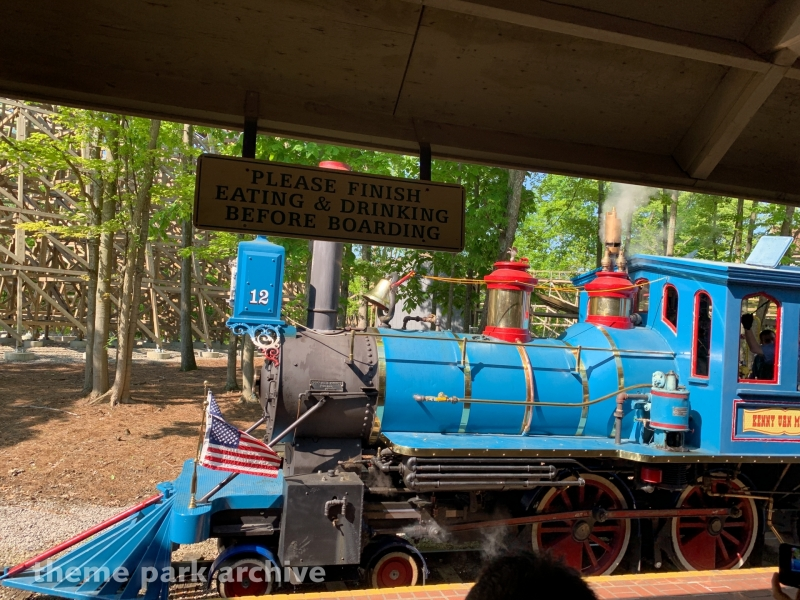 K.I. & Miami Valley Railroad at Kings Island