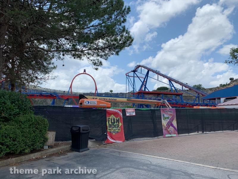 Joker at Six Flags Fiesta Texas