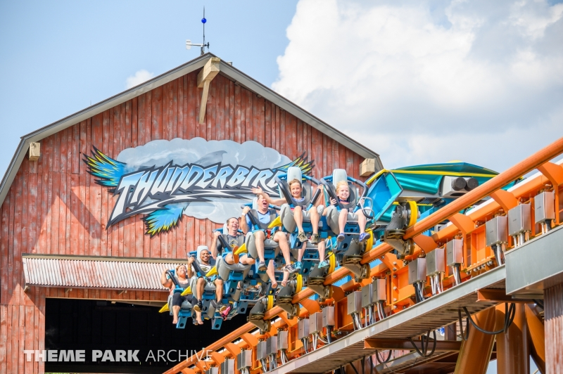 Thunderbird at Holiday World