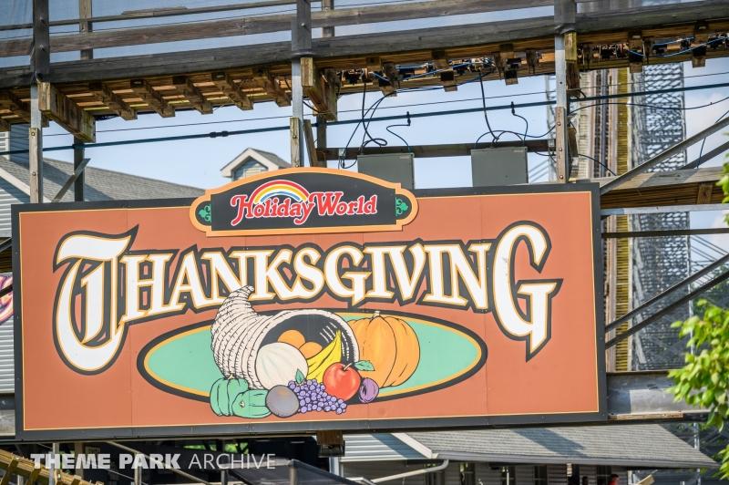 Thanksgiving at Holiday World