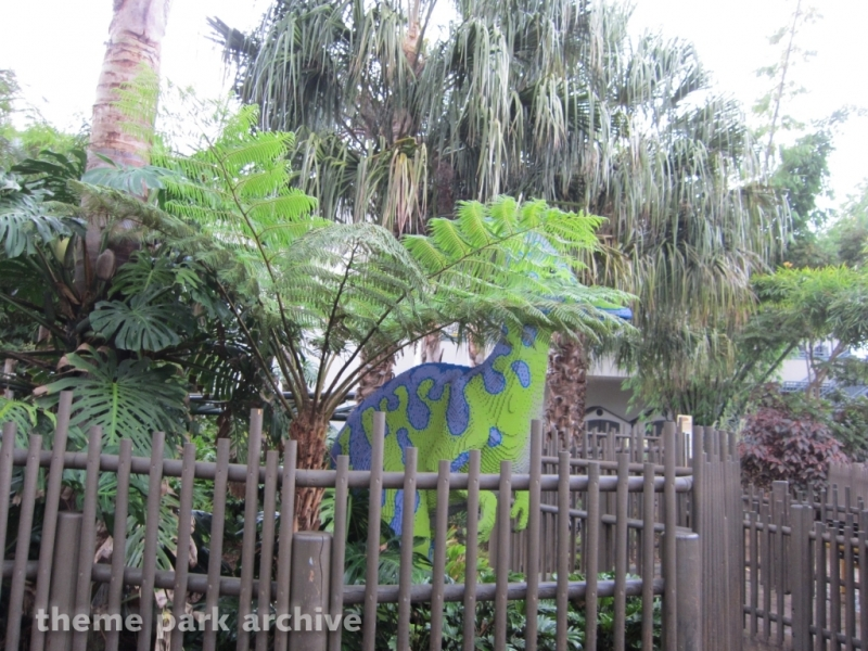 Coastersaurus at LEGOLAND California