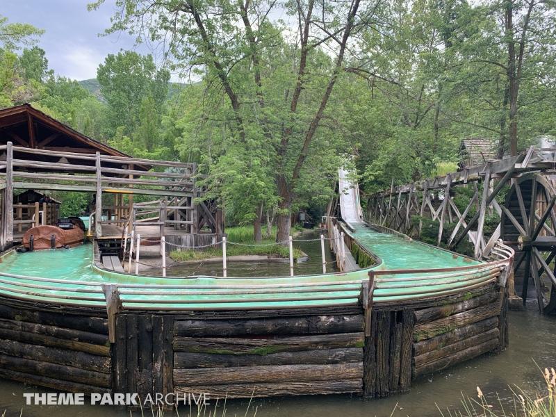 Log Flume at Lagoon