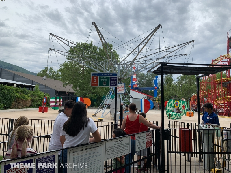 Flying Aces at Lagoon
