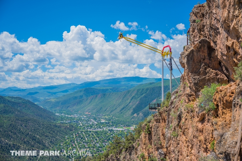 Giant Canyon Swing at Glenwood Caverns Adventure Park
