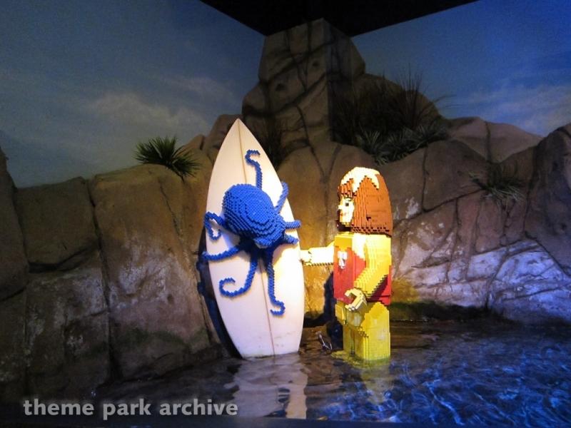 Sea Life Aquarium at LEGOLAND California