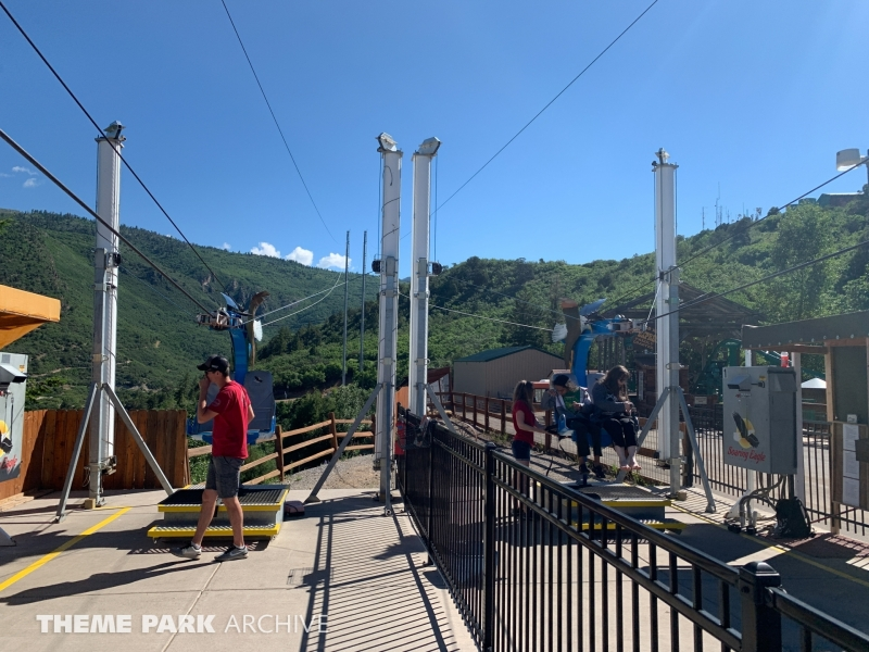 Soaring Eagle Zip Ride at Glenwood Caverns Adventure Park