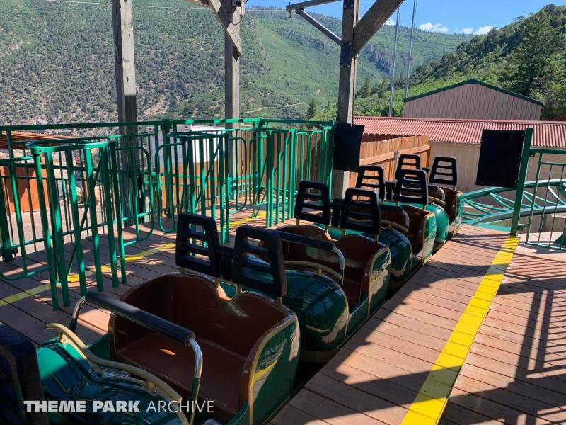 Wild West Express at Glenwood Caverns Adventure Park