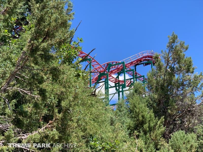 Cliffhanger Roller Coaster at Glenwood Caverns Adventure Park