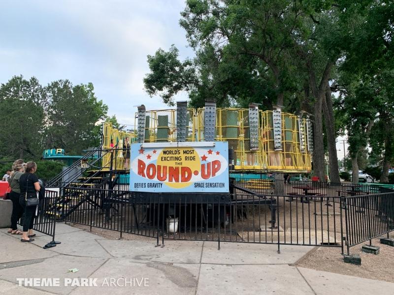 Round Up at Lakeside Amusement Park