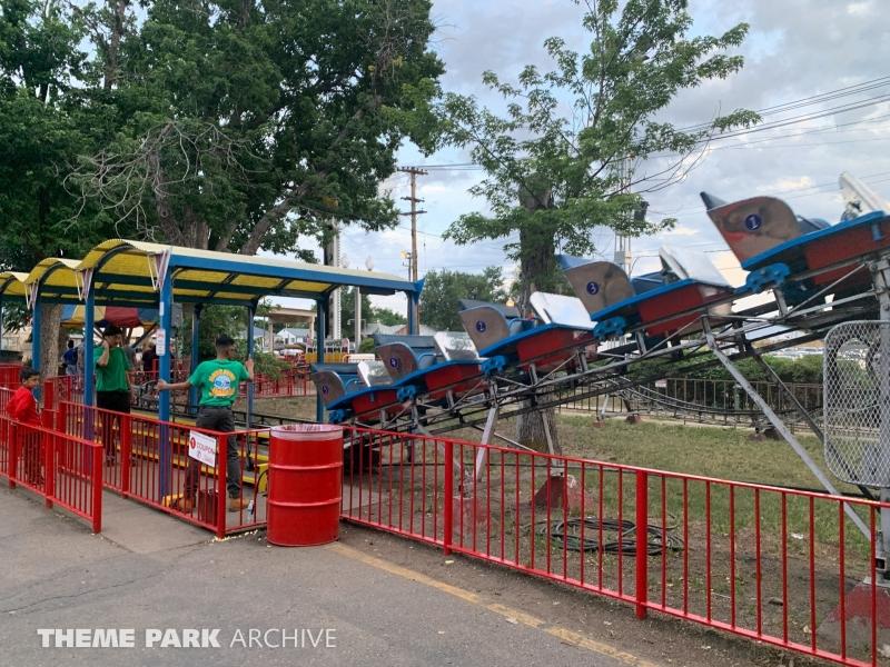 Kiddie Coaster at Lakeside Amusement Park