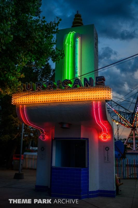 Hurricane at Lakeside Amusement Park