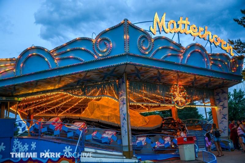Matterhorn at Lakeside Amusement Park