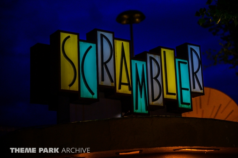 Scrambler at Lakeside Amusement Park