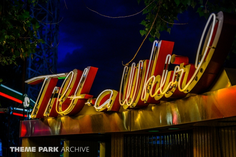 Tilt a Whirl at Lakeside Amusement Park