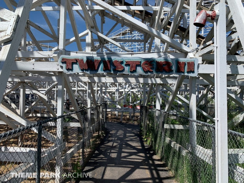Twister II at Elitch Gardens