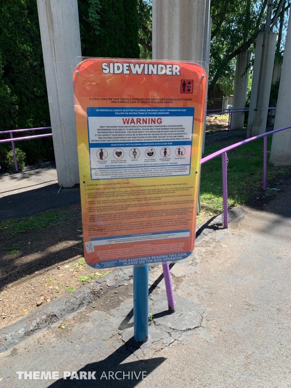 Sidewinder at Elitch Gardens