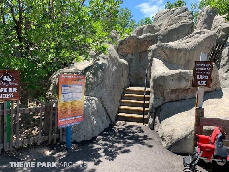 Disaster Canyon at Elitch Gardens