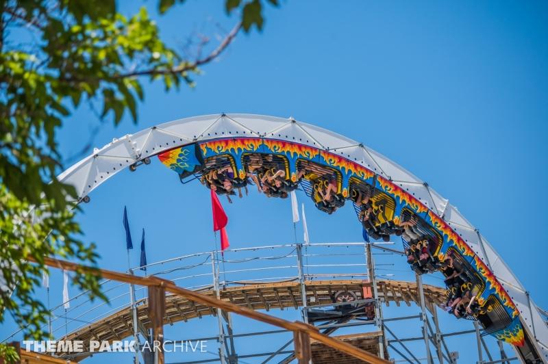 Fire Ball at Cliff's Amusement Park