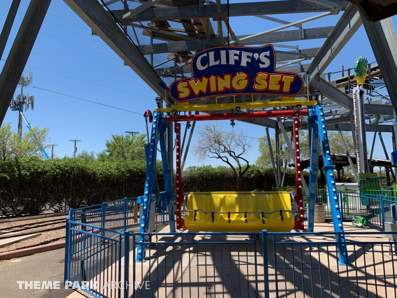 Happy Swing at Cliff's Amusement Park