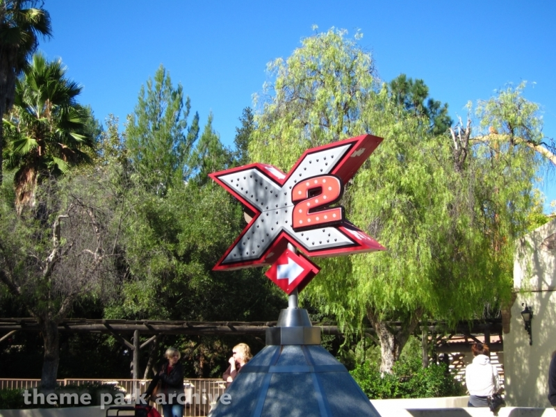 X2 at Six Flags Magic Mountain