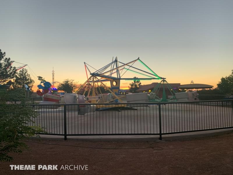 Scrambler at Western Playland