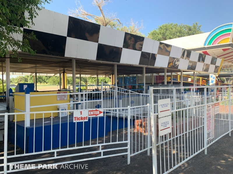 Bumper Cars at Joyland Amusement Park