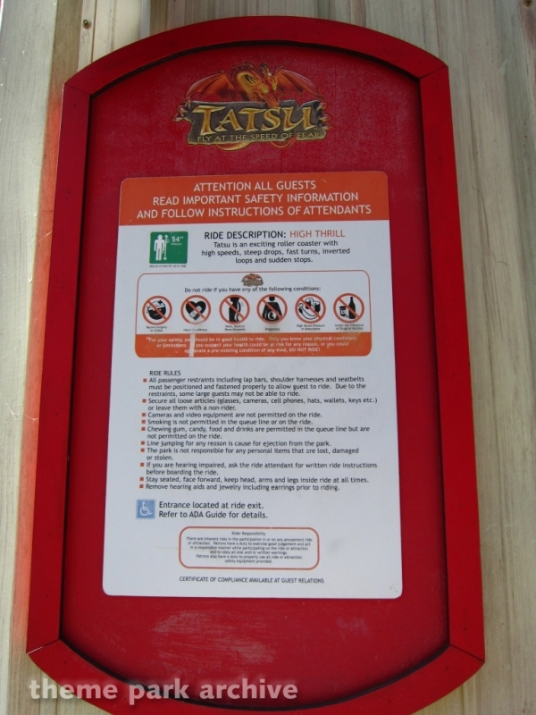 Tatsu at Six Flags Magic Mountain