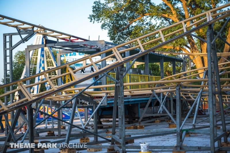Sandstorm at Joyland Amusement Park