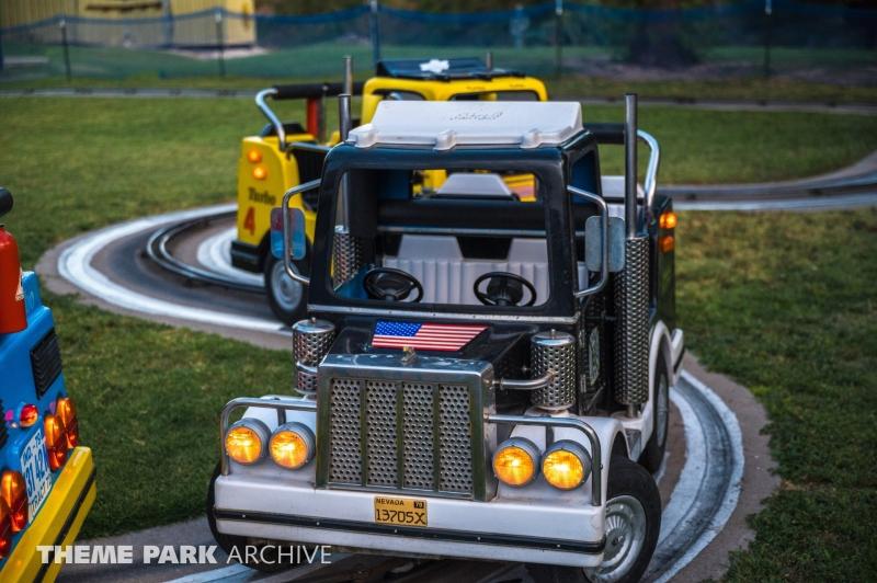 Big Trucks at Joyland Amusement Park