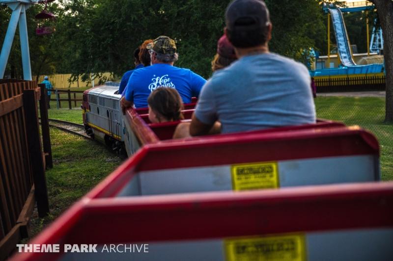 Train at Joyland Amusement Park