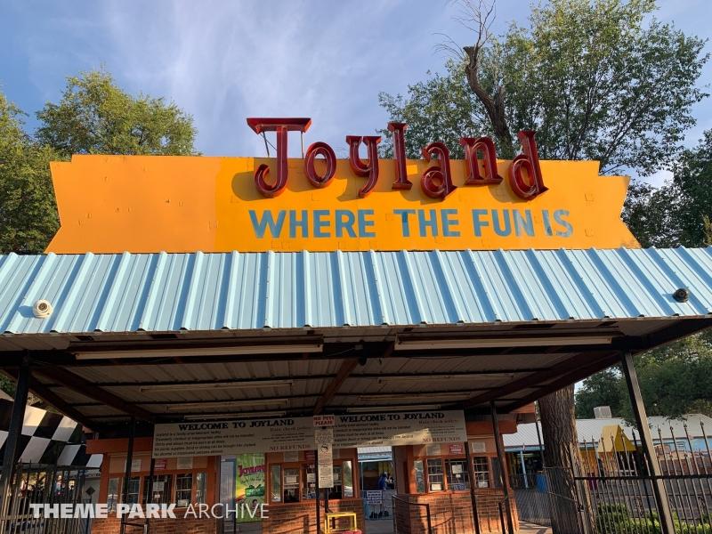 Entrance at Joyland Amusement Park