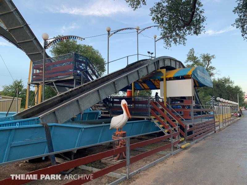Wild River at Joyland Amusement Park