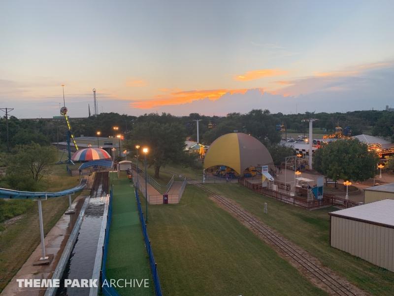 Big Splash Speed Slide at Joyland Amusement Park