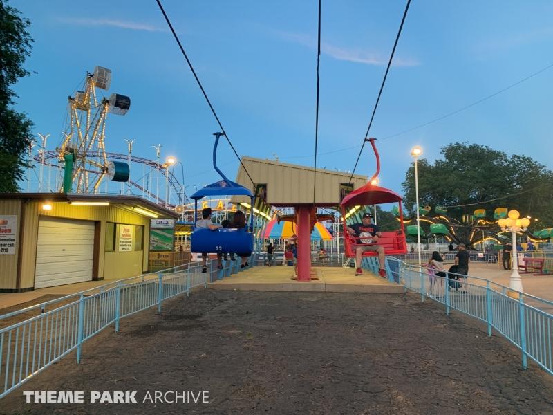 Sky Ride at Joyland Amusement Park
