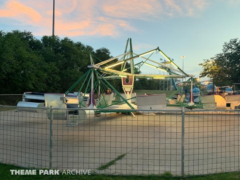 Scrambler at Joyland Amusement Park