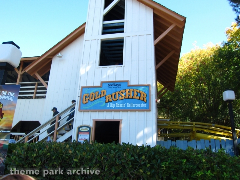Gold Rusher at Six Flags Magic Mountain