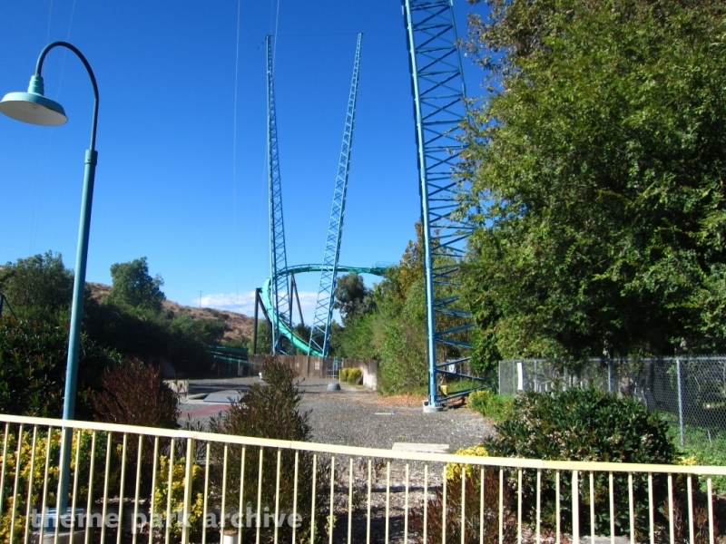 Dive Devil at Six Flags Magic Mountain