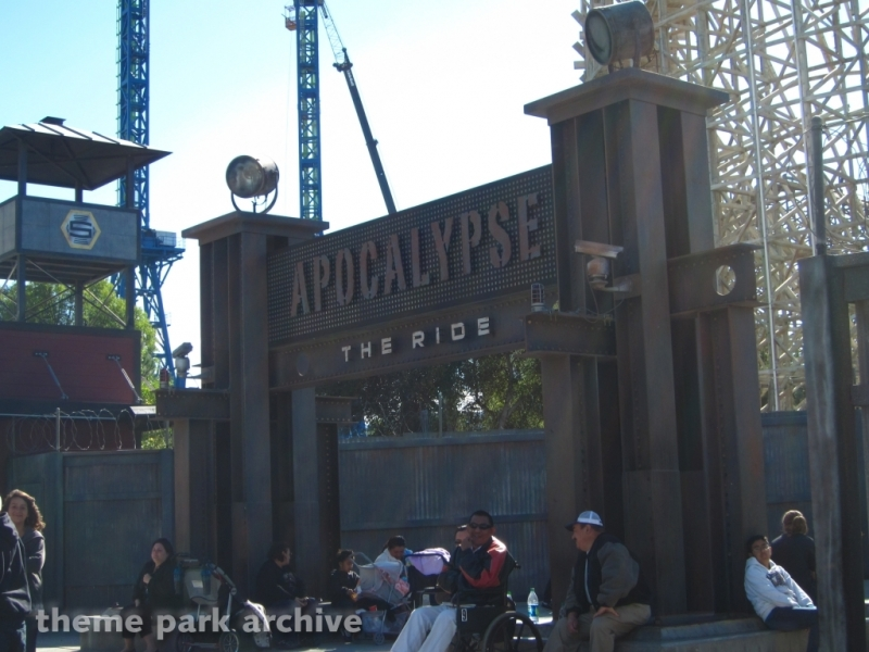 Apocalypse The Ride at Six Flags Magic Mountain