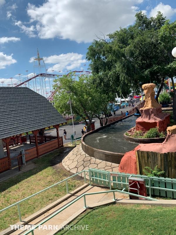 Rattlesnake at Wonderland Amusement Park