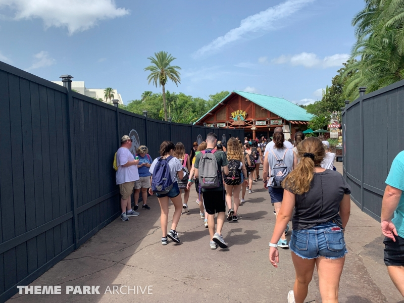 2021 Jurassic Park Coaster at Universal Islands of Adventure
