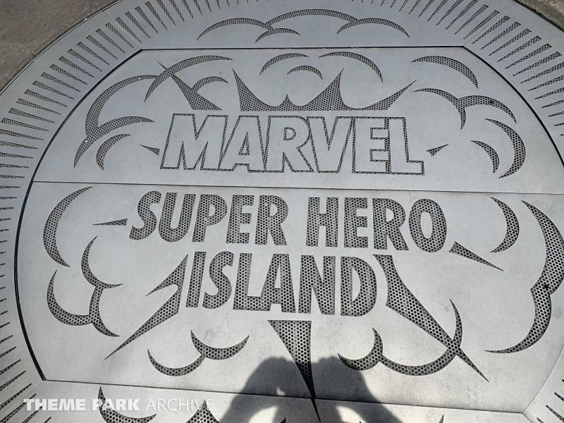 Marvel Super Hero Island at Universal Islands of Adventure